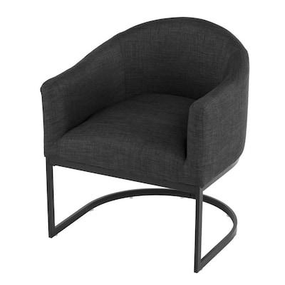 Sensational Boston Loft Furnishings Set Of 2 Sven Modern Gray Linen Machost Co Dining Chair Design Ideas Machostcouk