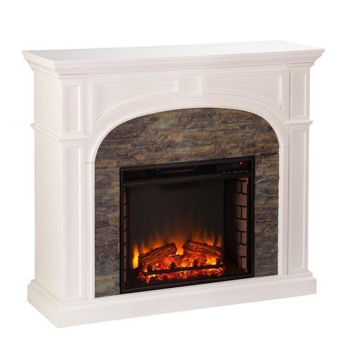 Boston Loft Furnishings 45 75 In W White With Montelena Faux Stone