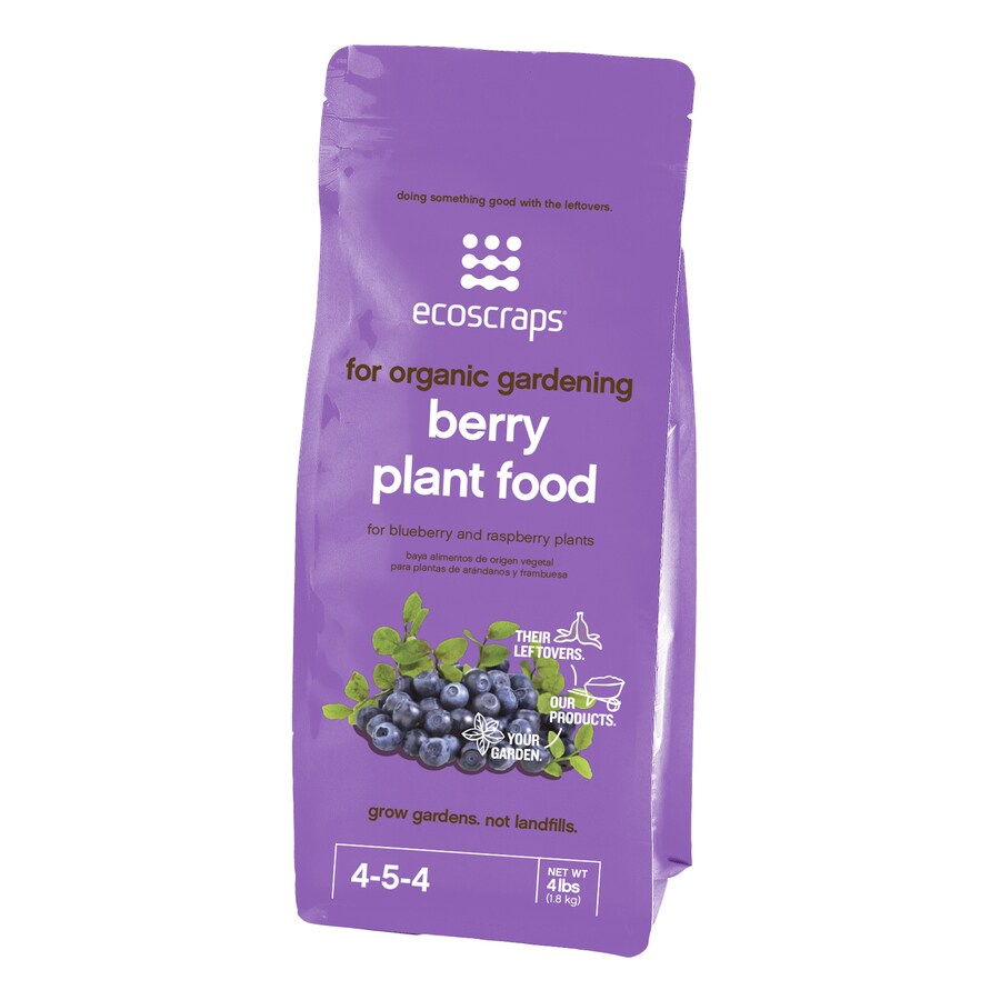 EcoScraps 4-lb Flower and Vegetable Food