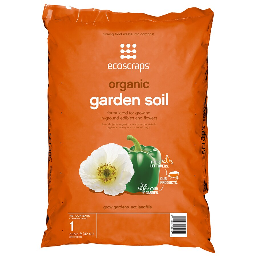 EcoScraps 1 Cu Ft Flower And Vegetable Soil