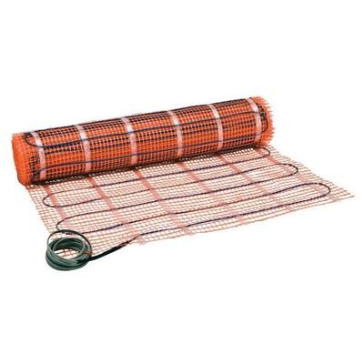 Orange Matte 120 Volt Floor Warming Mat