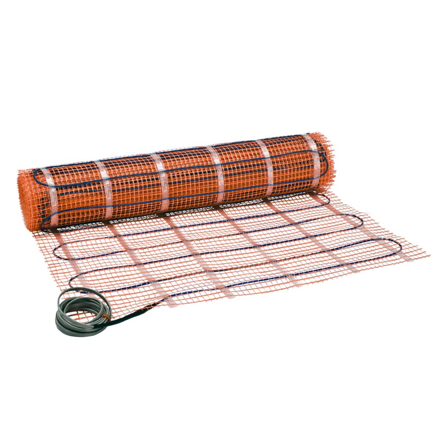 Watts SunTouch 30-in x 384-in Orange Mesh/Blue Wire 120-Volt Floor Warming Mat