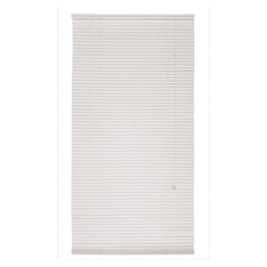 Custom Size Now By Levolor 27 Quot X 72 Quot White Mini Blinds At