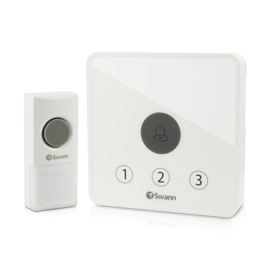 Swann White Wireless Doorbell Kit