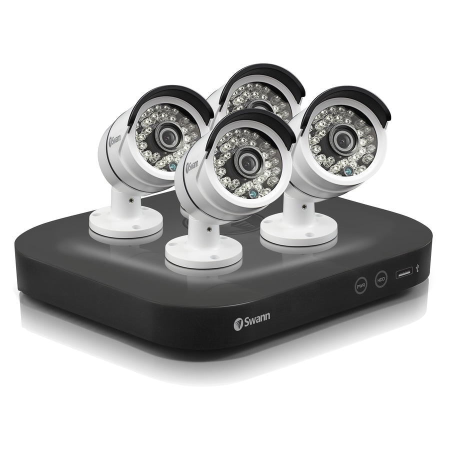 Swann 4750 Series Not Included Analog Wired Indoor or Outdoor Security Camera Night Vision Capable