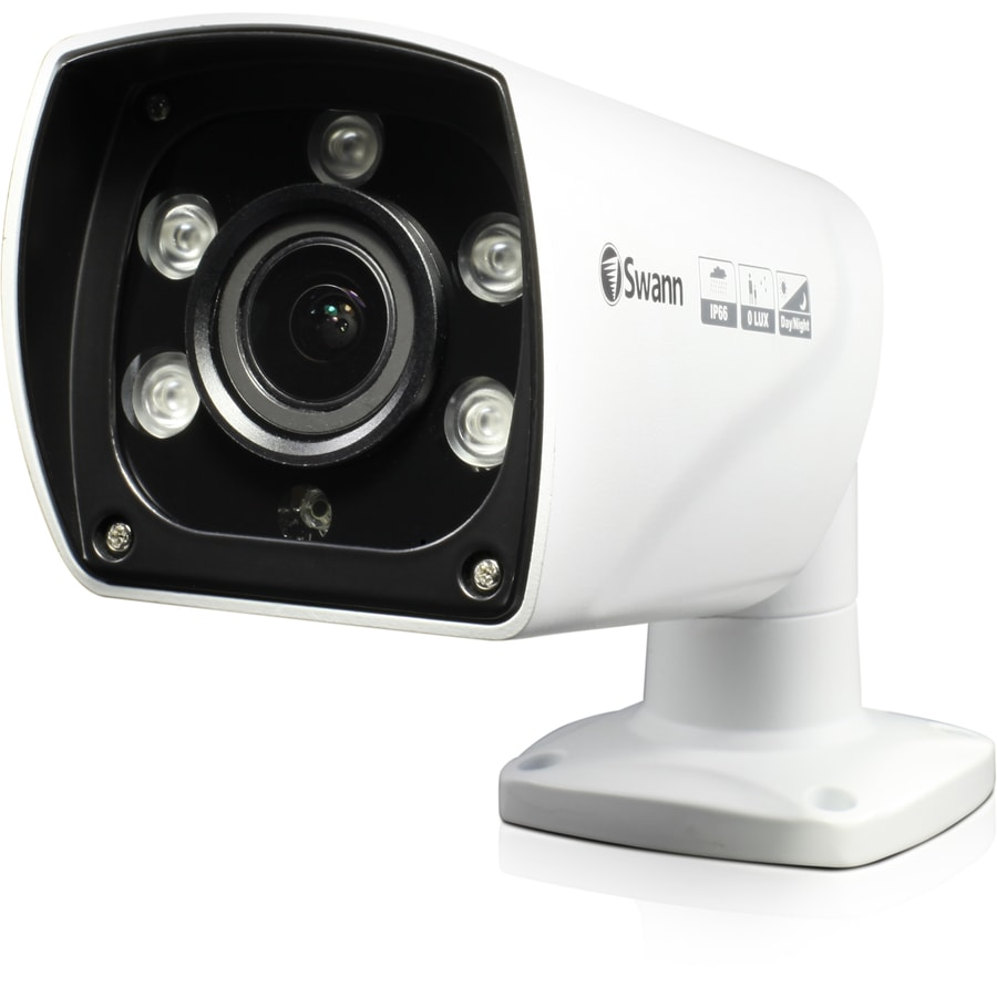 Shop Swann Pro Analog Wired Outdoor Security Camera with Night Vision at Lowes.com