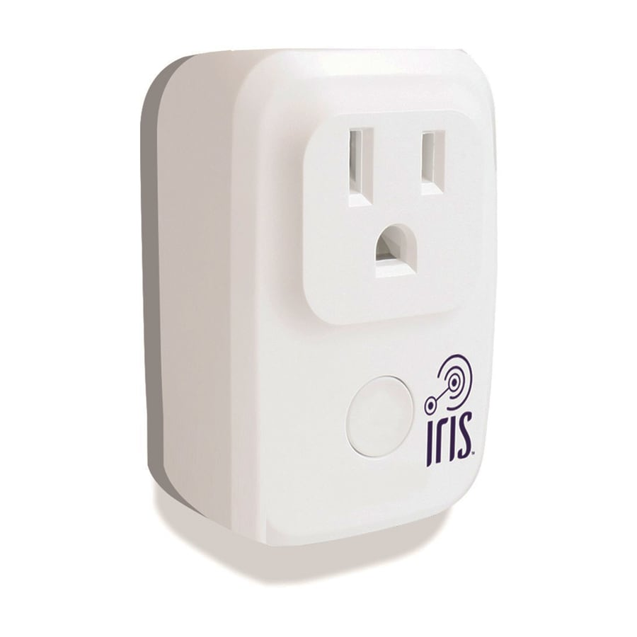 Iris 120-Volt White Smart Plug (Works with Alexa)