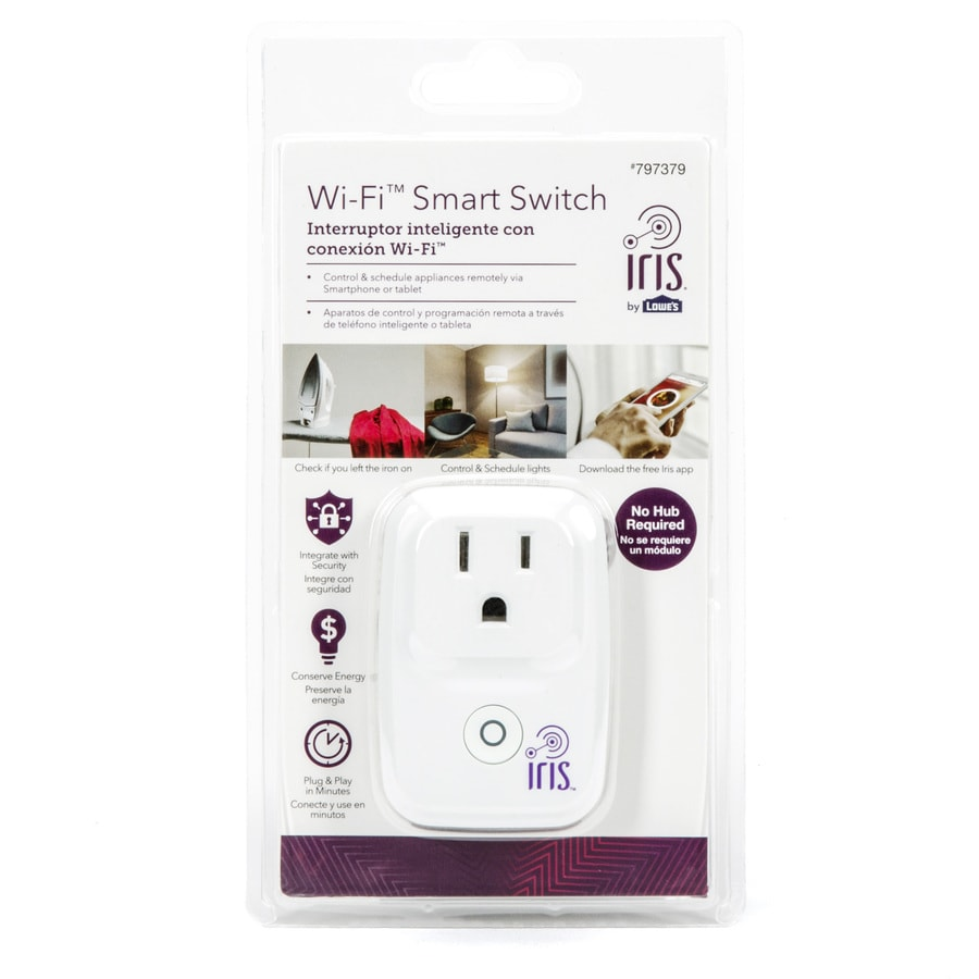 Plug 120-Volt White Smart Plug