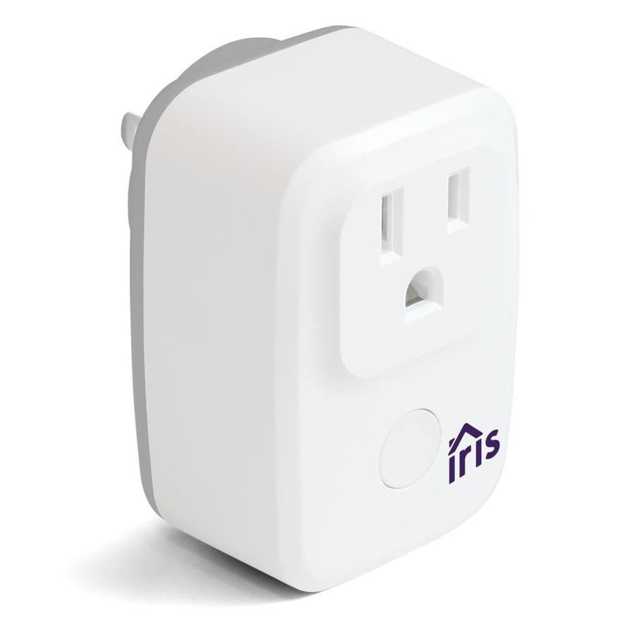 Iris Plug 120-Volt White Smart Plug