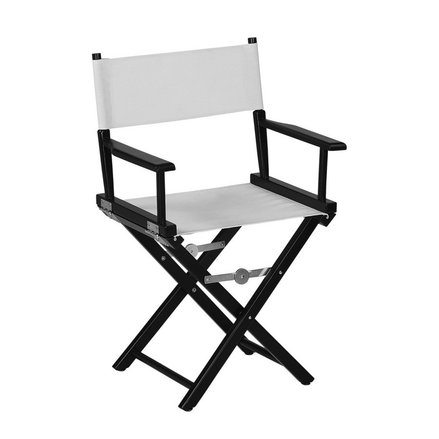 Bon Garden Treasures Black Directoru0027s Chair Frame