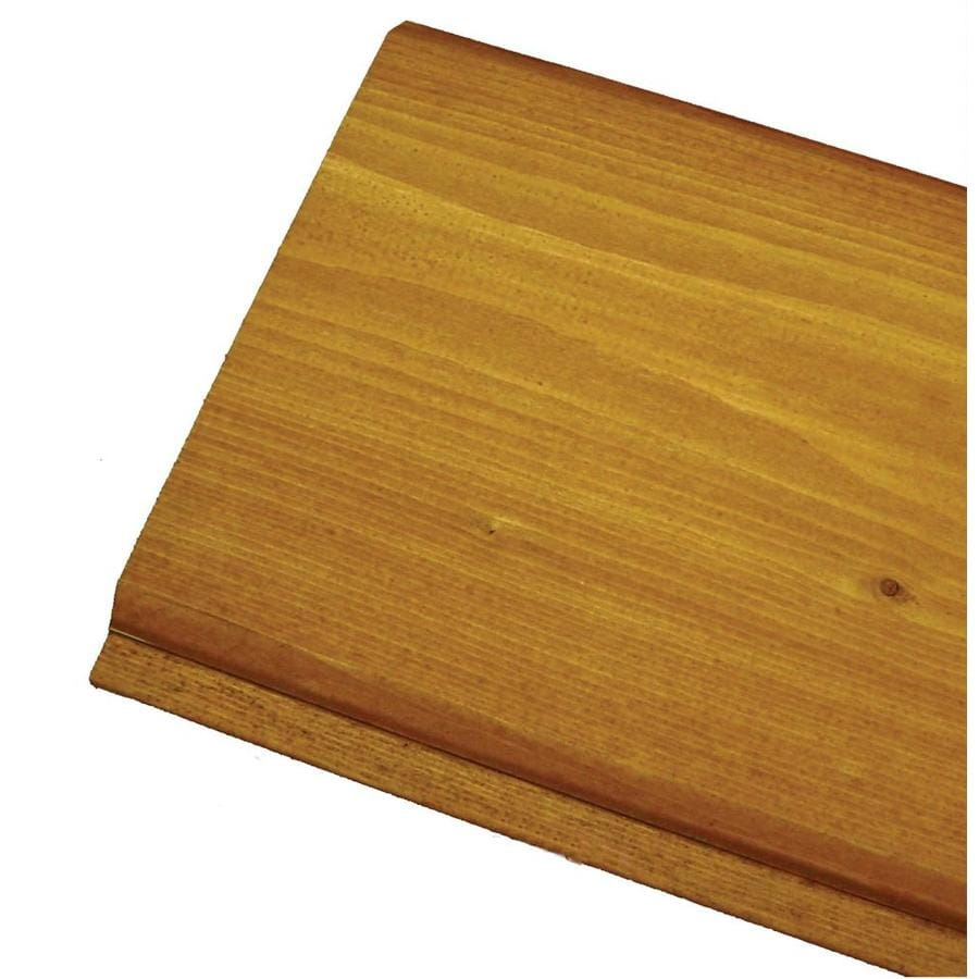 Woodtone (Common: 1-in x 6-in; Actual: 0.75-in x 5.5-in x 10-ft) Tongue and Groove Pattern Stock Stained Pine Board