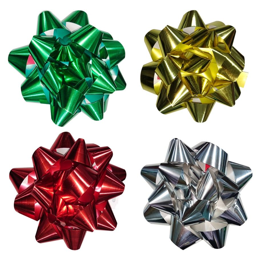 Creative Presence Assorted Any Occasion Star Gift Bow
