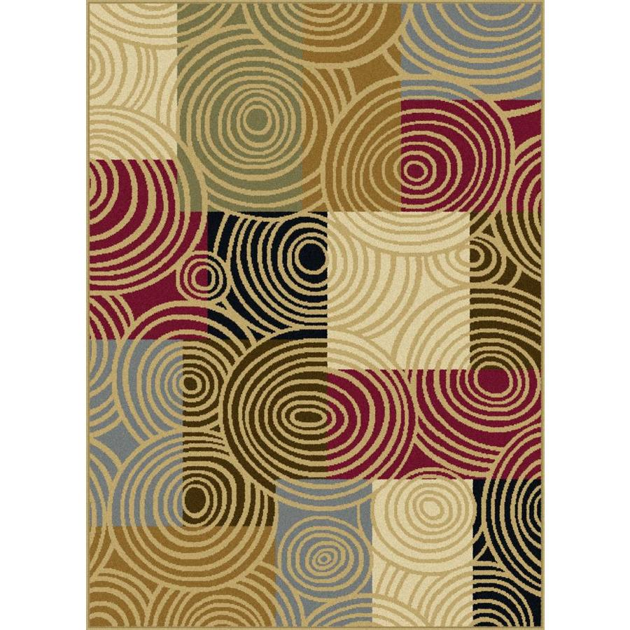 Tayse Laguna Rectangular Indoor Machine-Made Area Rug (Common: 5 x 7; Actual: 5-ft W x 7-ft L)
