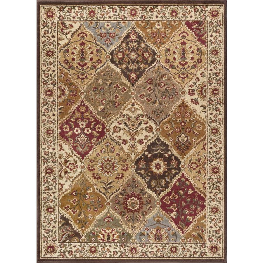 Tayse Elegance Rectangular Indoor Machine-Made Area Rug (Common: 5 x 7; Actual: 5-ft W x 7-ft L)