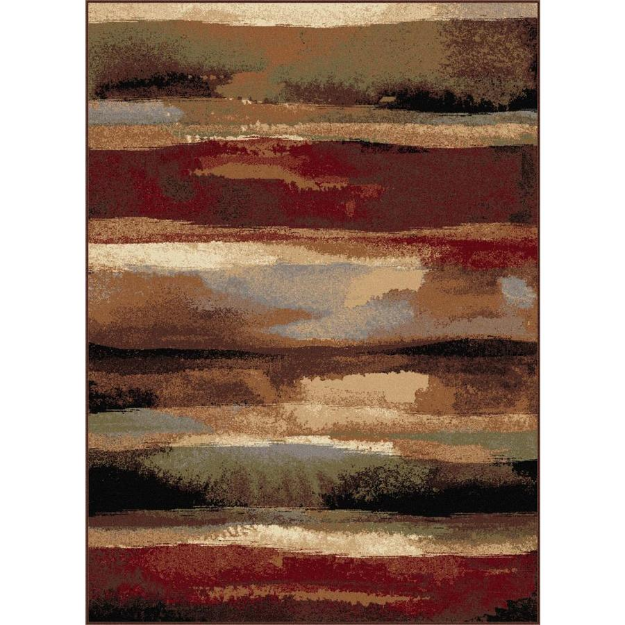 Tayse Festival Rectangular Indoor Area Rug (Common: 5 x 7; Actual: 5.25-ft W x 7.25-ft L)