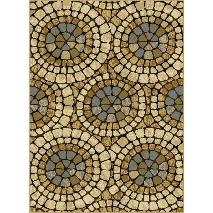Tayse Laguna Rectangular Indoor Area Rug (Common: 8 x 10; Actual: 7.5-ft W x 9.8333-ft L)