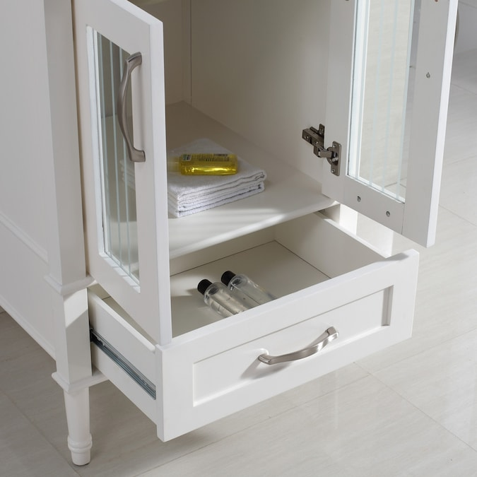 Simpli Home Kendra Soft White Undermount Single Sink ...