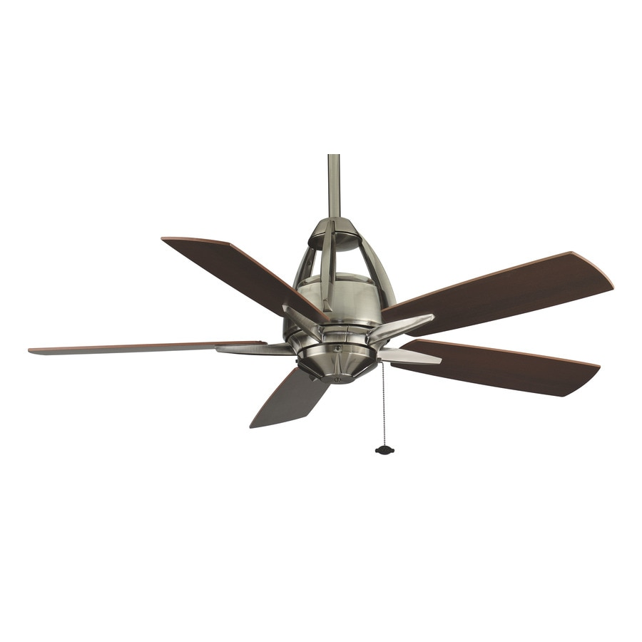 Fanimation Huxley 52-in Pewter Indoor Downrod Mount Ceiling Fan ENERGY STAR