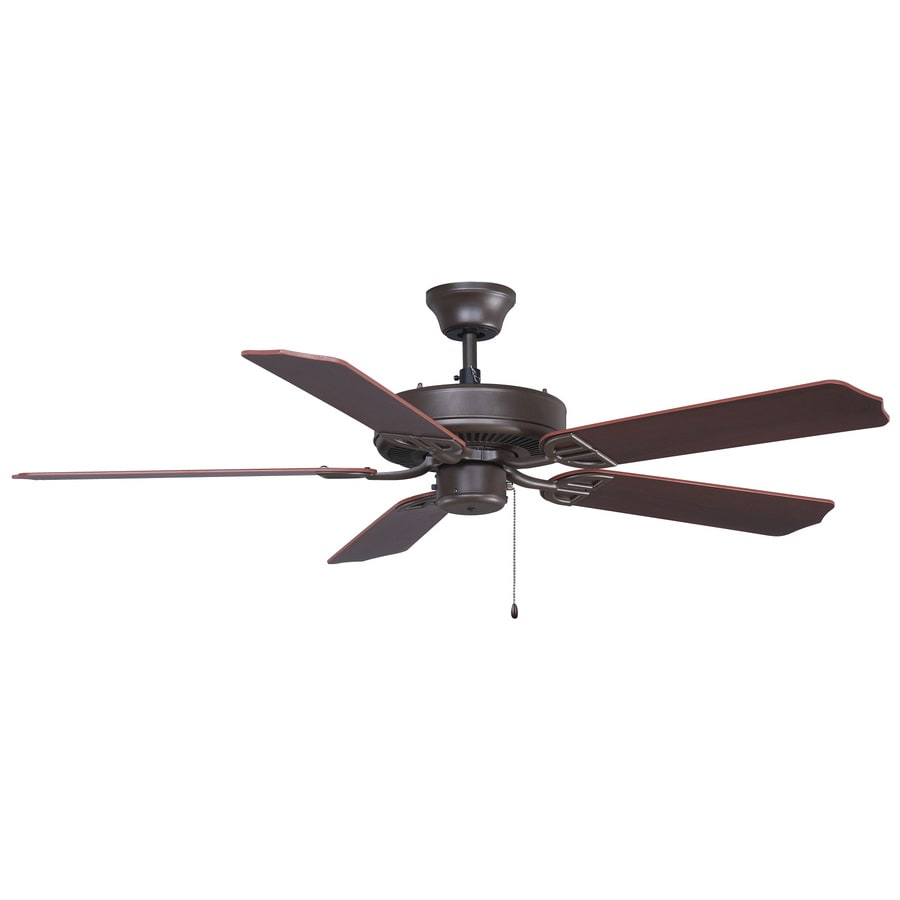 Fanimation Air Decor 52-in Oil-Rubbed Bronze Indoor Downrod Mount Ceiling Fan ENERGY STAR