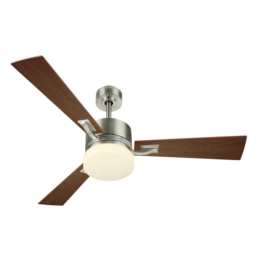 Harbor Breeze 52 Impact Brushed Nickel Ceiling Fan