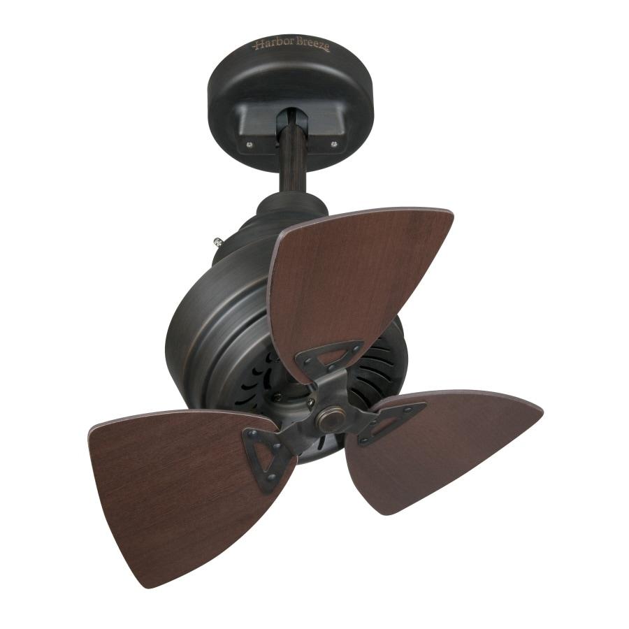 Mist Fans Lowe S : Shop harbor breeze quot townsend ceiling fan at lowes