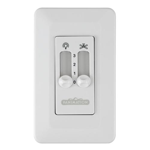 Ceiling Fans From Lowes: Fanimation 3-Speed White Wall-mount Ceiling Fan Remote