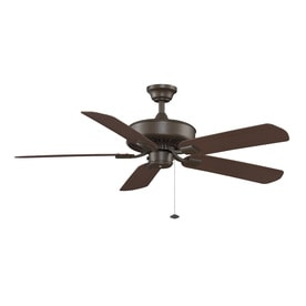 Fanimation Edgewood 50 In Indoor Outdoor Downrod Mount Ceiling Fan ENERGY STAR