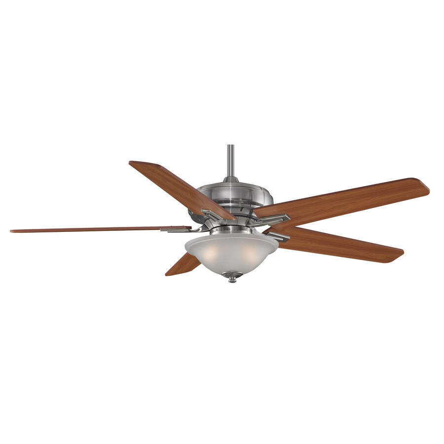 Fanimation Keistone 60-in Bronze Downrod Mount Indoor Ceiling Fan with Light Kit and Remote