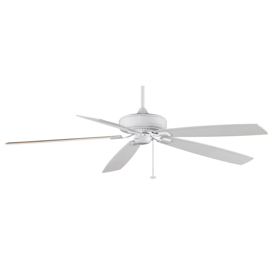 Fanimation Edgewood Supreme 72-in White Indoor Downrod Mount Ceiling Fan ENERGY STAR