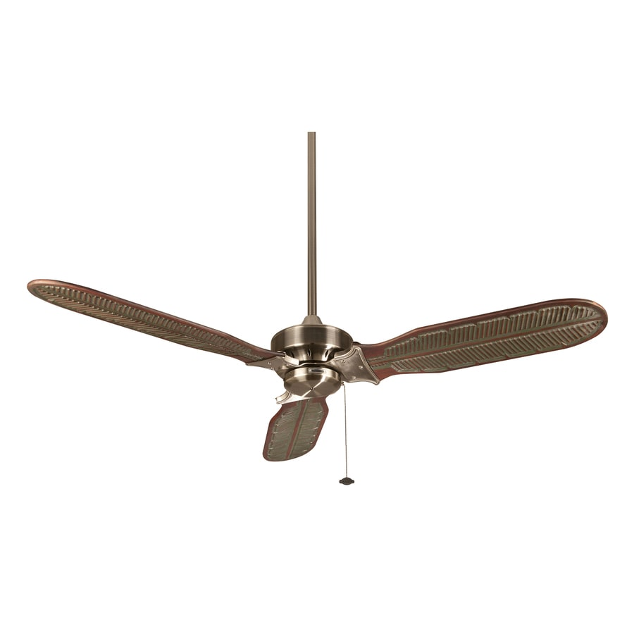 Fanimation Windpointe 60-in Pewter Indoor Downrod Mount Ceiling Fan