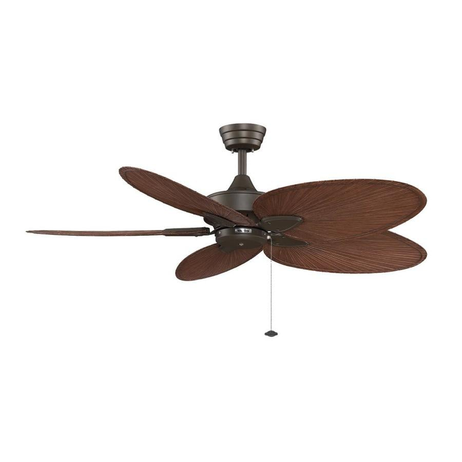 Fanimation Windpointe 52-in Oil-Rubbed Bronze Indoor Downrod Mount Ceiling Fan