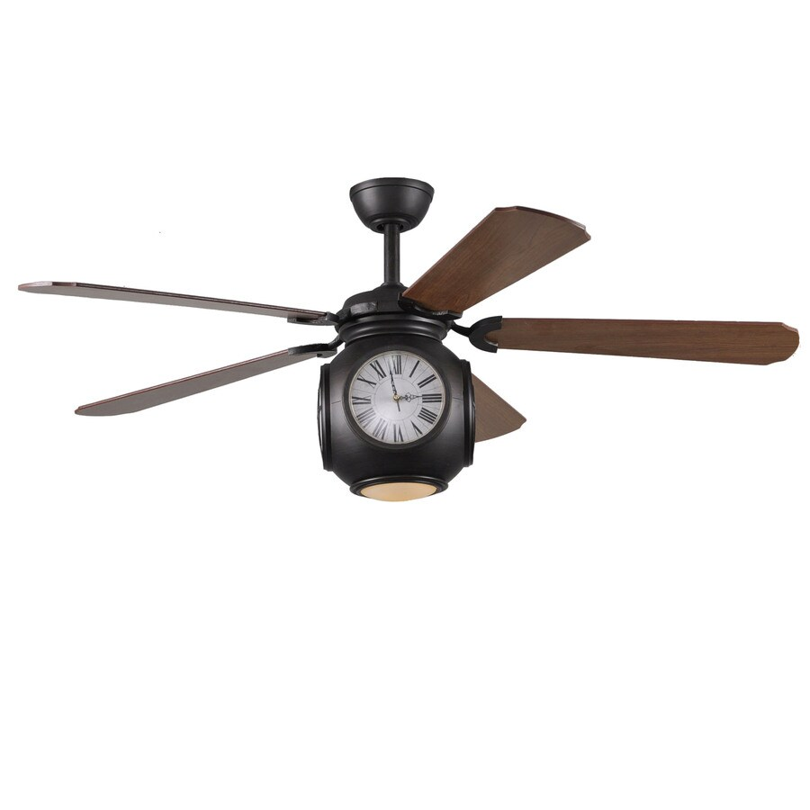 Harbor Breeze 52-in Rock Hall Oil-Rubbed Bronze Ceiling Fan with Light Kit - Shop Harbor Breeze 52-in Rock Hall Oil-Rubbed Bronze Ceiling Fan