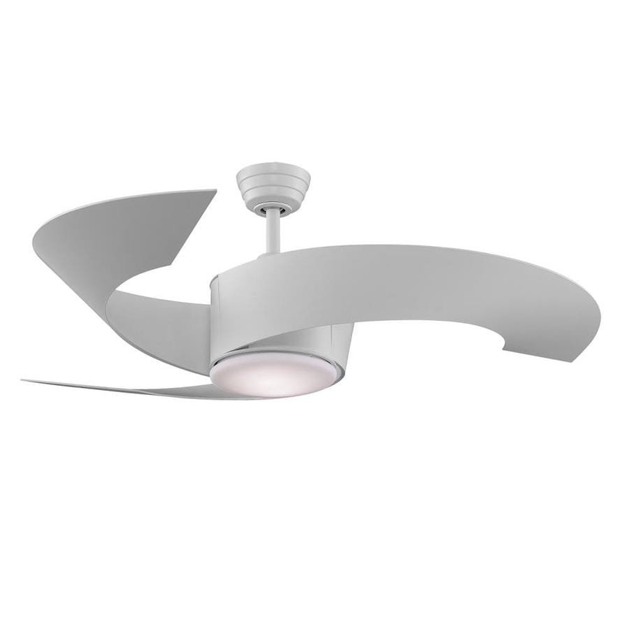 Shop ceiling fans at lowes fanimation torto 52 in indooroutdoor downrod mount ceiling fan with light kit and aloadofball Gallery