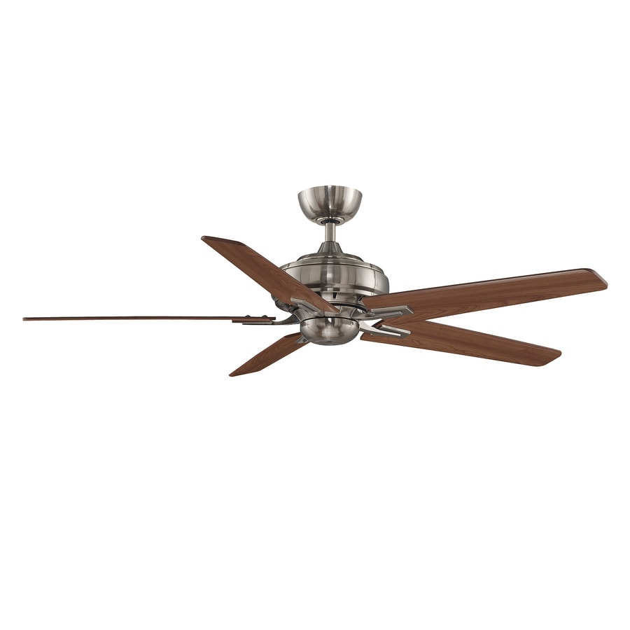 Fanimation Keistone 60-in Bronze Downrod Mount Indoor Ceiling Fan with Remote