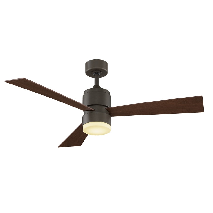 fanimation zonix led 54 in oil rubbed bronze led indoor outdoor ceiling fan with light kit and. Black Bedroom Furniture Sets. Home Design Ideas