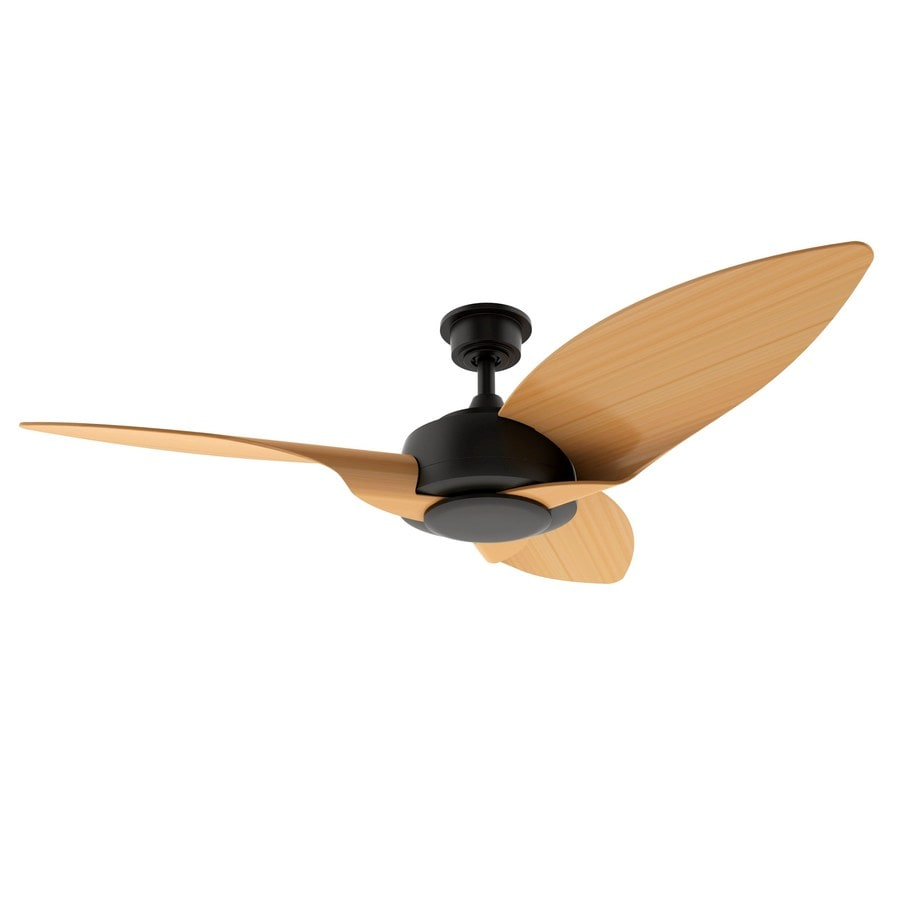 Shop Harbor Breeze Platinum Aniva Bay 52-in Aged Bronze Downrod Mount Indoor/Outdoor Ceiling Fan ...