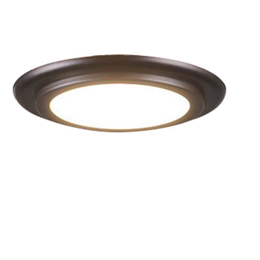 shop harbor breeze platinum aniva bay 1-light aged bronze led