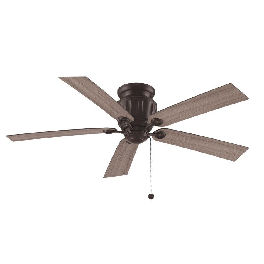 Ceiling Fan Mount : Shop fanimation studio collection ash in black iron