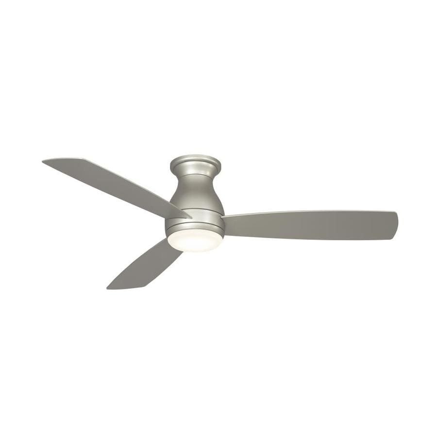 Fanimation Hugh 52 In Brushed Nickel Led Indoor Outdoor