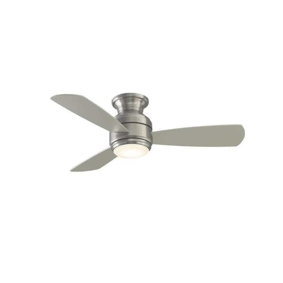 Ceiling Fans Mount: Fanimation Studio Collection Level 44-in Brushed Nickel