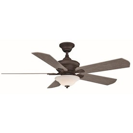 Matte Gray Led Indoor Smart Ceiling Fan