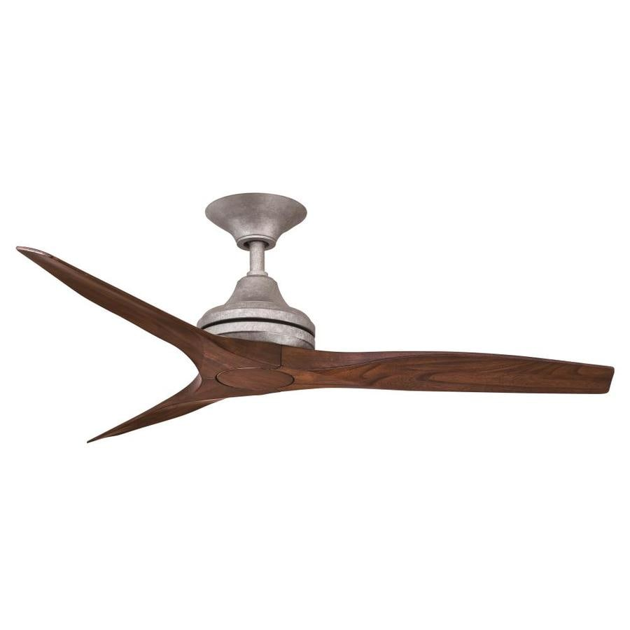 Fanimation Spitfire 48 In Silver Outdoor Ceiling Fan And