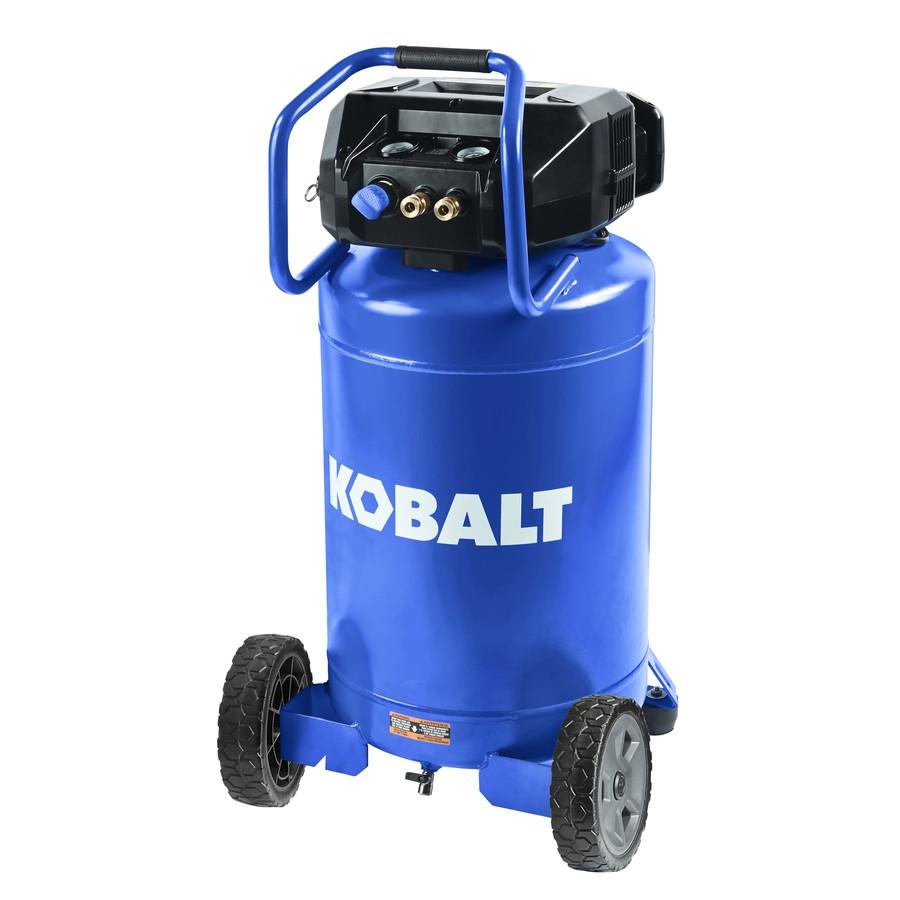 Kobalt 20 Gallon Portable Electric Vertical Air Compressor