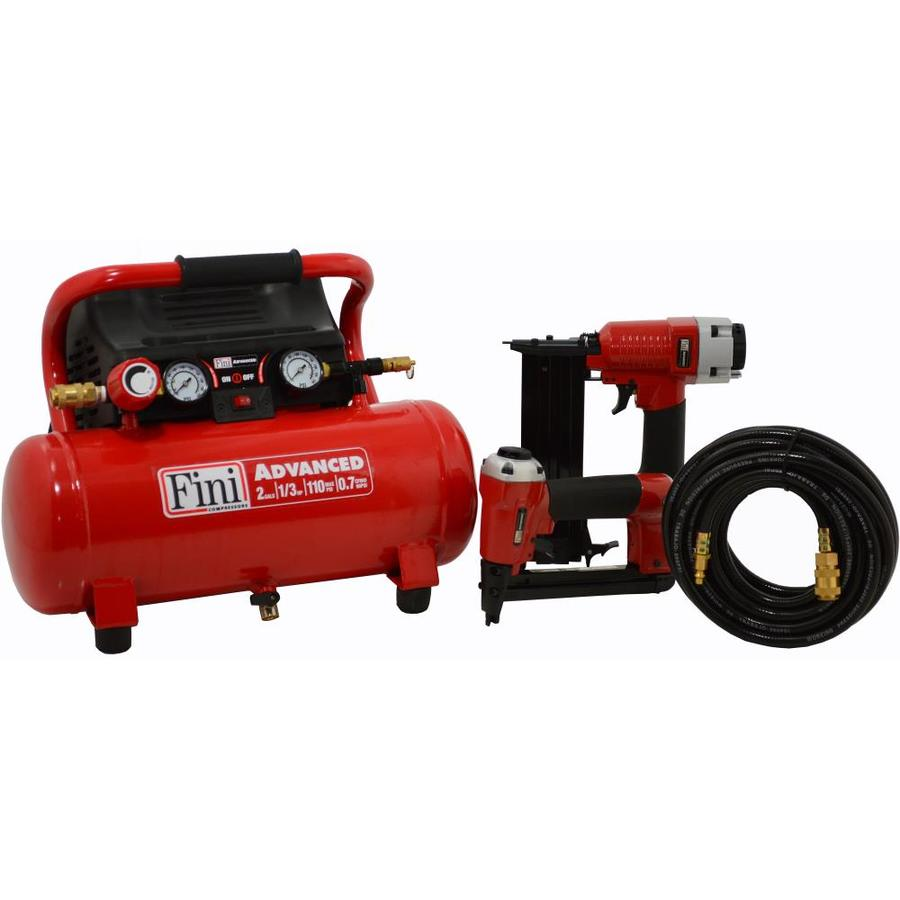 Fini 2-Gallon Portable 110-PSI Electric Hot Dog Air Compressor