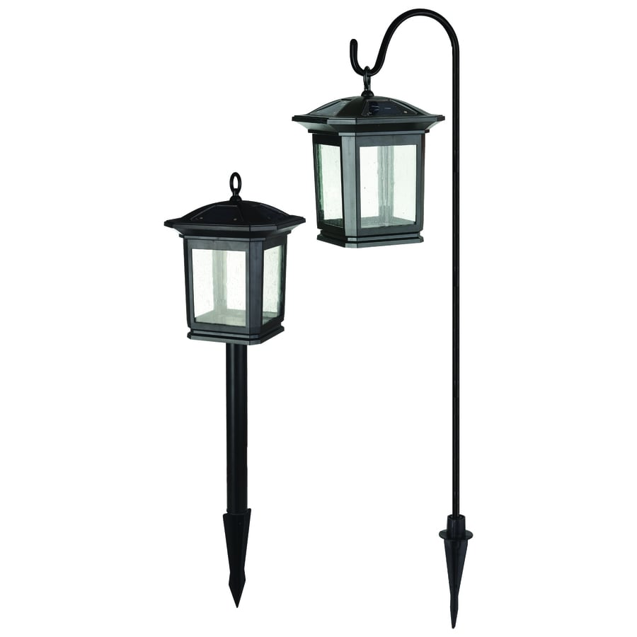Portfolio Landscape Lighting Stakes : Portfolio light black led path kit at lowes