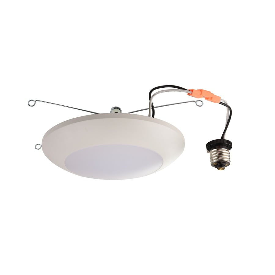 Utilitech 65-Watt Equivalent White Dimmable LED Recessed Retrofit Downlight (Fits Housing Diameter: 5-in or 6-in)