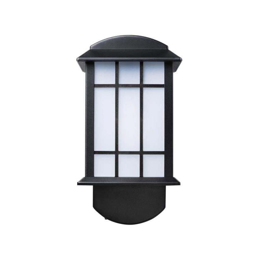 Maximus 6-in H Textured Black Dark Sky Outdoor Wall Light