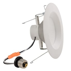 Project Source 65 Watt Equivalent White Dimmable LED Recessed Retrofit  Downlight (Fits Housing Diameter