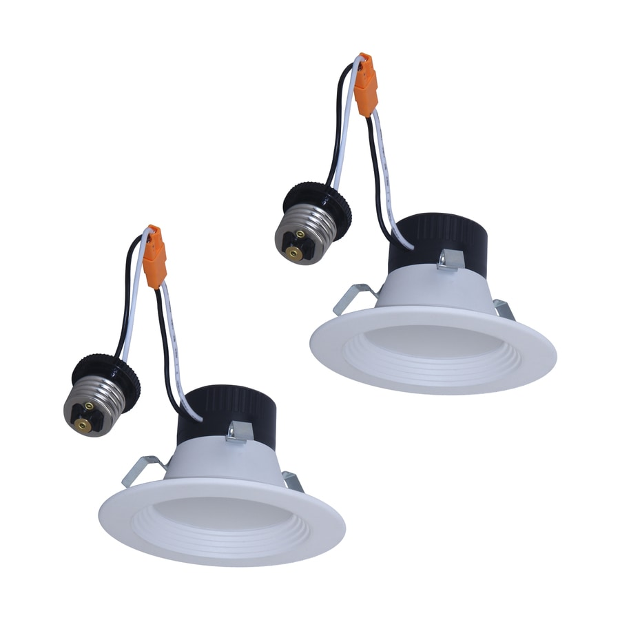 Shop Utilitech 2 Pack 50 Watt Equivalent White Dimmable