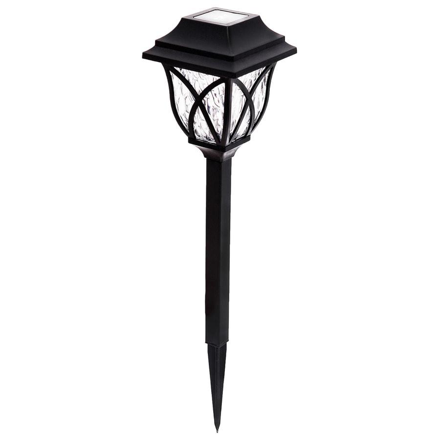 Portfolio 4x Brighter 4 8 Lumen Black Solar Led Path